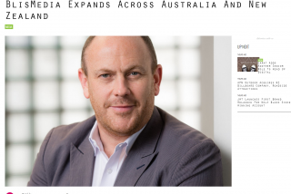 BlisMedia Expands Across Australia and New Zealand